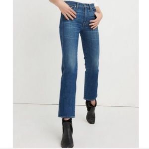 Lucky Brand Authentic High Rise Straight Crop Jean